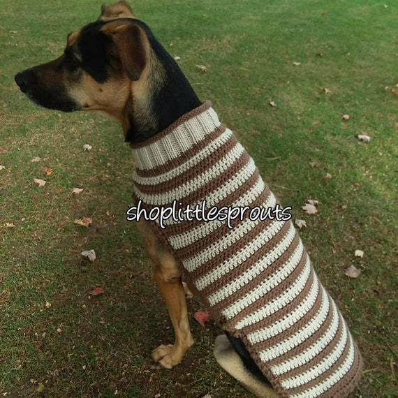 Dog Sweaters For Large Breeds Etsy