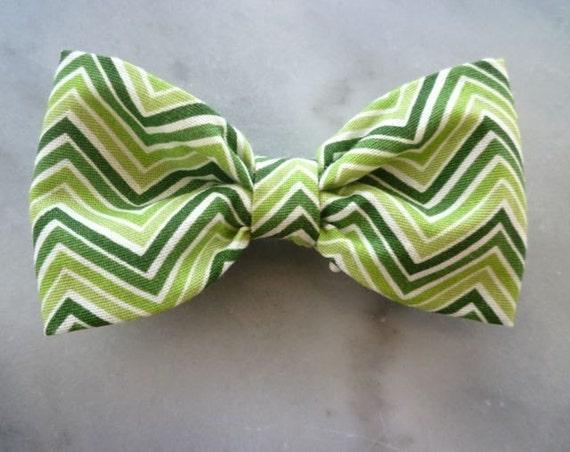 Ziggy Zaggy Boy's Bow Tie - clip on - St. Patricks Day outfit