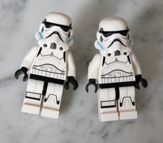 Lego Star Wars Cuff Links - Stormtrooper Lego Minifigure