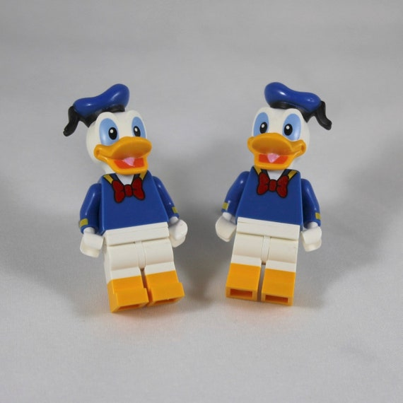 Disney Lego Donald Duck Cuff Links - Genuine Disney Minifigure