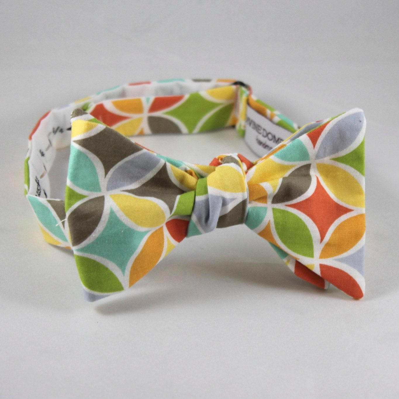 00ecfe749f00 Bright Stained Glass Windows Bow tie for men or boys - clip on