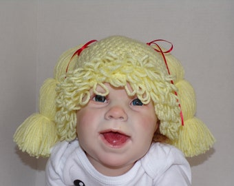 Cabbage patch type hat for 6-12 month old baby db9c83808ce