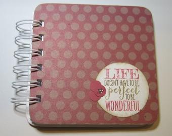 Life Polka Dot Password Book