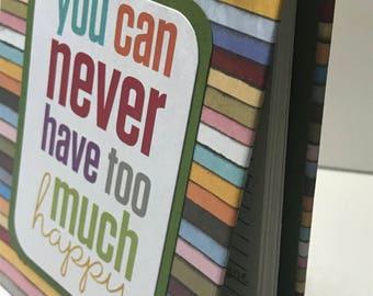 Happy Birthday/Anniversary Reminder Book