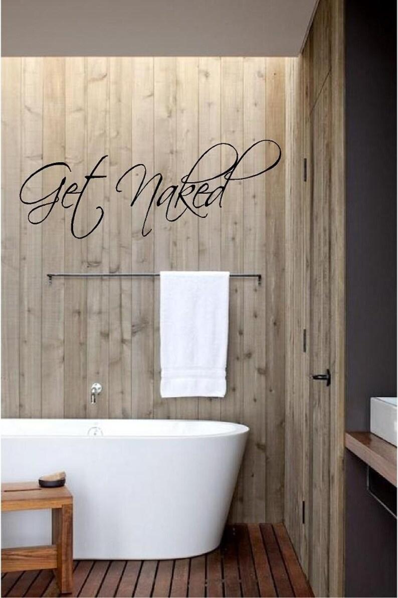 Obtener la etiqueta del vinilo desnuda decoración de cuarto | Etsy