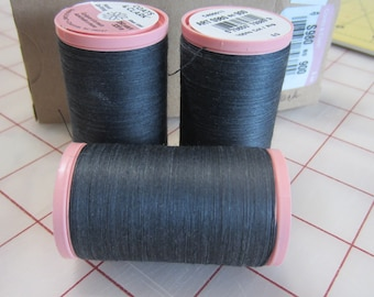 Coats /& Clark Hand Quilting Thread Lot 3 spools 325 yd each Rose Pink