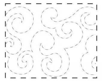 "Quilt Pattern Roll Small Stipples 9 1/2"" x 26' #QME309"