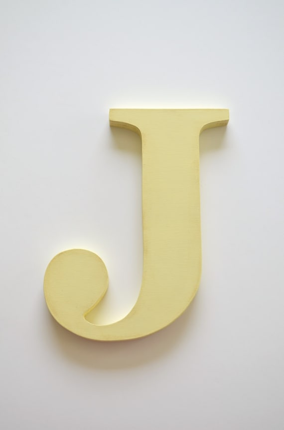 """Lower Case Letter MULTI COLORS Gingham Wood Letters /""""r/"""""""