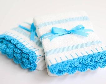 Crochet Kitchen Bar Mop Towel