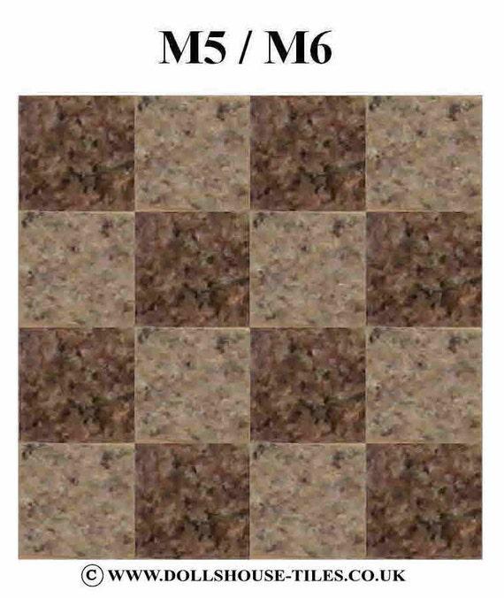 Dollhouse Flooring And Tiles. SF1 M5/M6. MARLIKE Floor