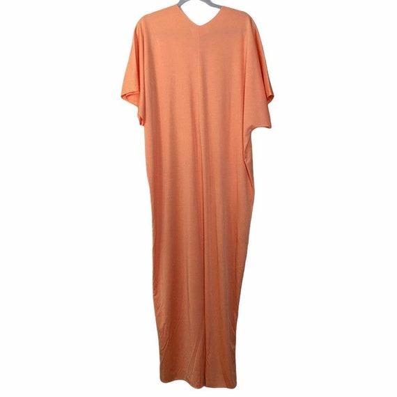 Vintage Lucie Ann Beverly Hills Womens Orange V N… - image 7
