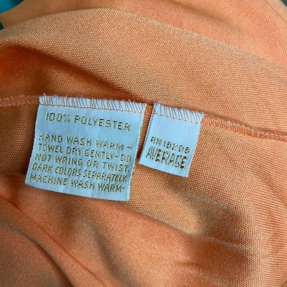 Vintage Lucie Ann Beverly Hills Womens Orange V N… - image 5
