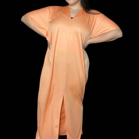 Vintage Lucie Ann Beverly Hills Womens Orange V N… - image 1