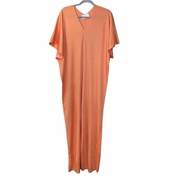 Vintage Lucie Ann Beverly Hills Womens Orange V N… - image 2