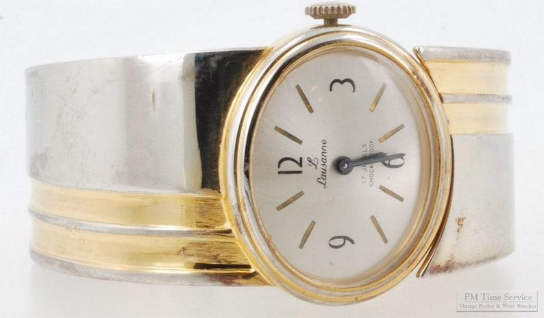 Lausanne vintage ladies' wrist watch 17 jewels image 0