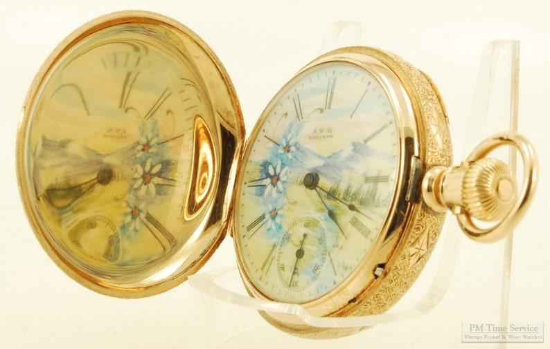Waltham Seaside vintage ladies' pocket watch image 0