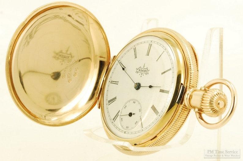 Elgin grade 119 vintage ladies' pocket watch 6 size 11 image 0