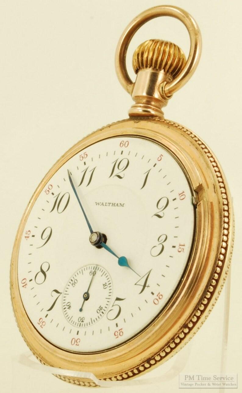 fe7d06de2 Waltham Crescent St. vintage pocket watch 18 | Etsy