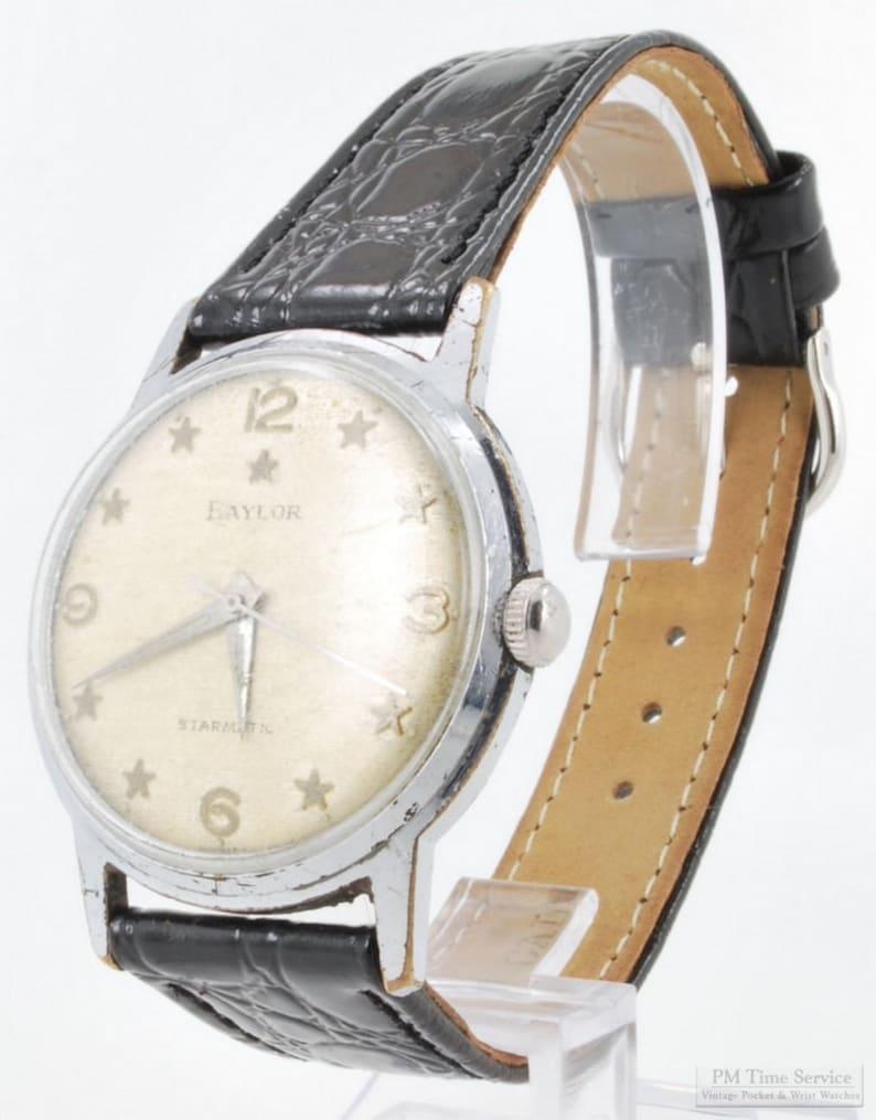 Baylor automatic self-winding Starmatic vintage wrist watch image 0