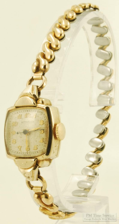 Wittnauer vintage ladies' wrist watch 17 jewels lovely image 0