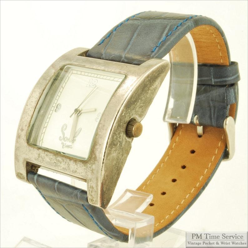 Soul by Curve vintage quartz wrist watch oversized image 0
