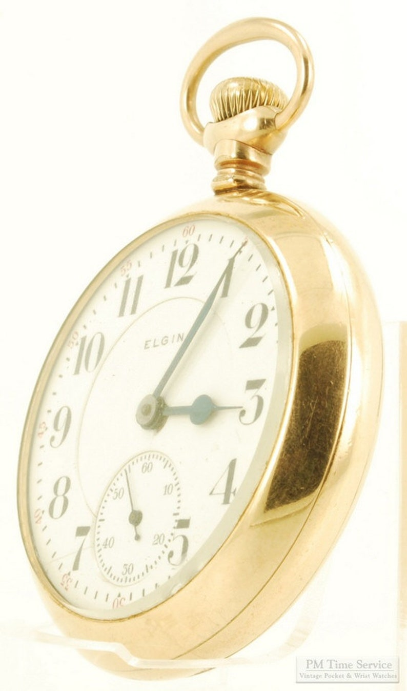 Elgin B.W. Raymond grade 240 vintage pocket watch 18 size 19 image 0