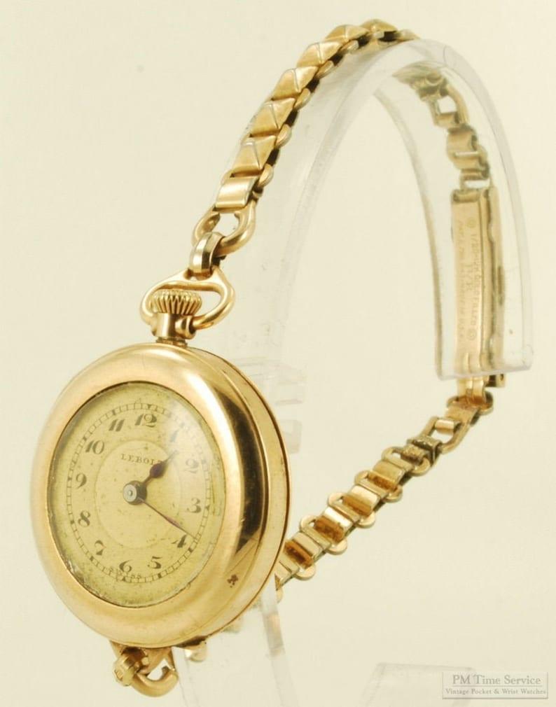 A. LeCoultre ladies' vintage wrist watch pocket watch image 0