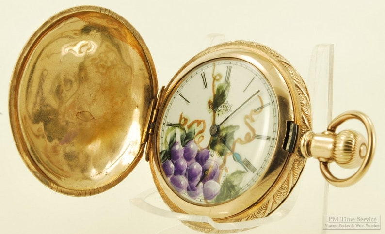 Elgin grade 206 vintage ladies' pocket watch 6 size 7 image 0