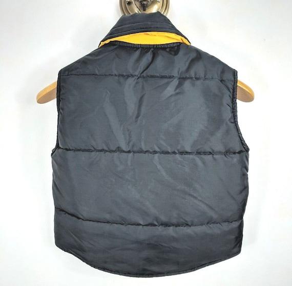 newest 5ddd2 24152 Vintage Stahl-Urban NFL Pittsburgh Steelers Puffer Vest Jacket Youth Size  Medium Coat