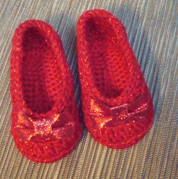 Wizard of Oz Ruby Slippers INFANT to