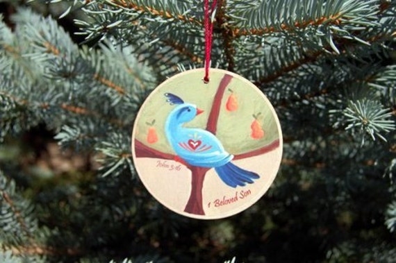 Twelve Days Of Christmas Ornaments.12 Days Of Christmas Ornaments Ready To Ship Christian Meanings Included