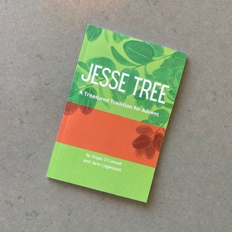 New Jesse Tree Book for Advent 6x9 image 0
