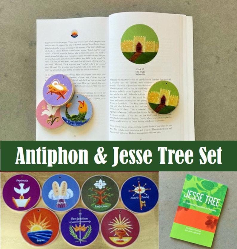 Advent Set  Antiphons New Storybook and  Jesse Tree set  image 0