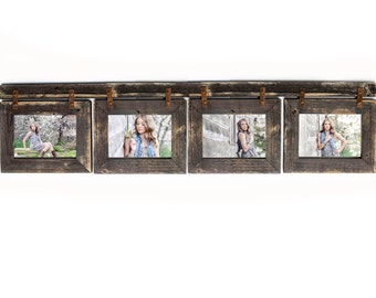 rustic picture frames collages. Delighful Rustic Barnwood Collage Frame 4 Hole 5x7 Multi Opening FrameRustic Picture Reclaimed Inside Rustic Frames Collages O