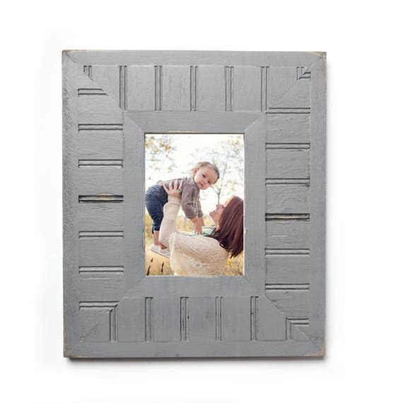 New Wide Beadboard Shabby Chic Picture Frame Photo Frame Etsy
