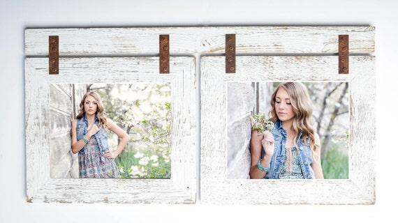 Barnwood Collage White Frame 2 8x10 Multi Opening Etsy