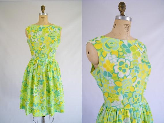 Garden Party Dresses Vintage Etsy