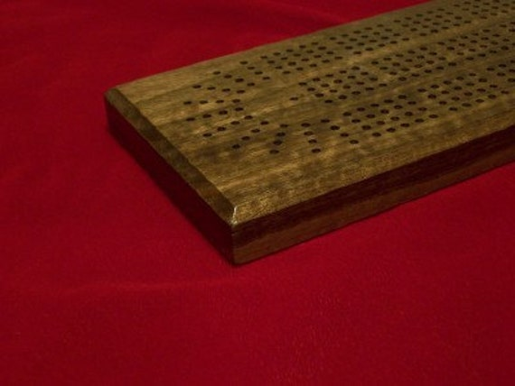 Cribbage Board 4 Play Rare Birdseye Maple USA made by disabled vet
