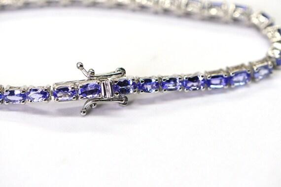 Tanzanite Bracelet, Tennis Bracelet ,Chain Bracele