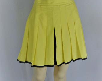 Yellow Tennis Skirt
