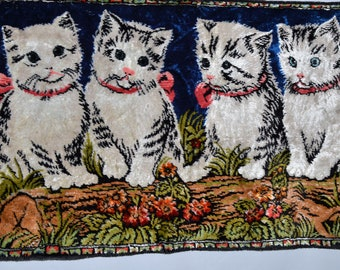 Kitten Tapestry Wall Hanging