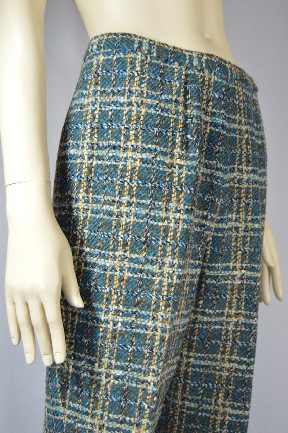Pendleton Boucle Plaid Lined Trousers