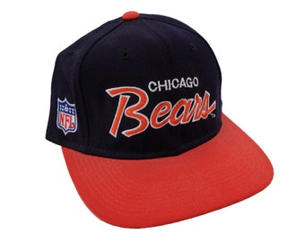 Vintage 90 s Chicago Bears Football Original Sports Specialties Script  Letter Team NFL Licensed