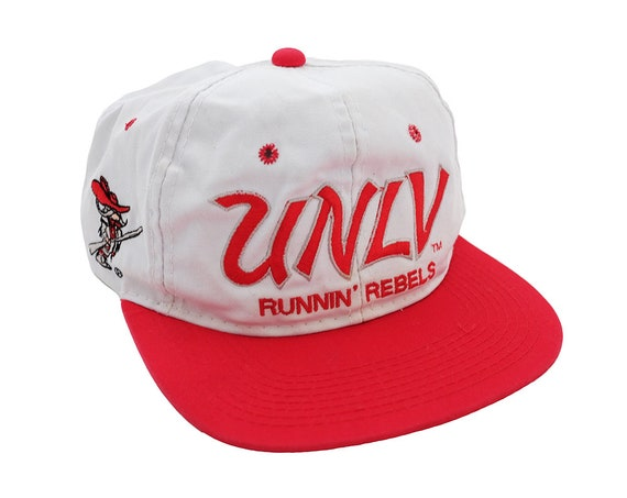 299449c29fb Vintage UNLV Runnin  Rebels Classic Script Snapback