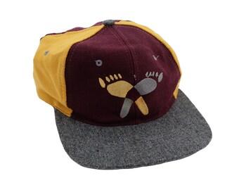 Vintage 90's Street Noyz Wool Panel Snapback Hat