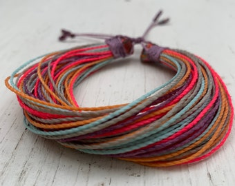 For the Love of Color!  Blessing Bracelet by Hypknotica