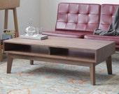 Ventura Coffee Table - Mid-Century - Solid Wood
