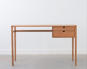 Garfield Desk - Solid Wood - Two Drawers