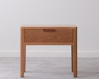 Avers Side Table - Solid Wood