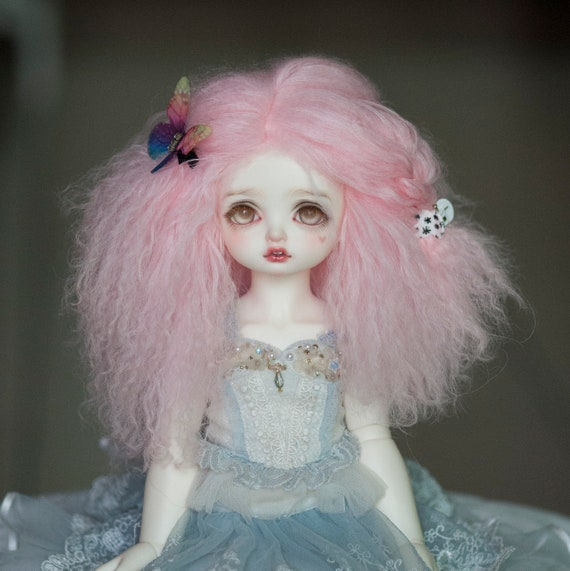 Stretchy Silicone 1:3 BJD Doll Head Wig Cap 9-10inch Circumference Accessory